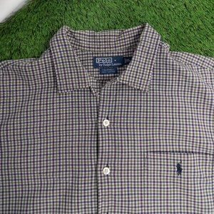 VINTAGE 00's Polo by Ralph Lauren button up